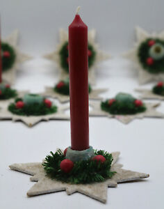 antique-German-handmade-Christmas-Candle-Holders-with-Candle-1920-s-Ornaments