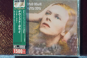 Rare-David-Bowie-Hunky-Dory-Japan-Import-Edition-11Tracks-EMI-TOCP-53526-Inlays