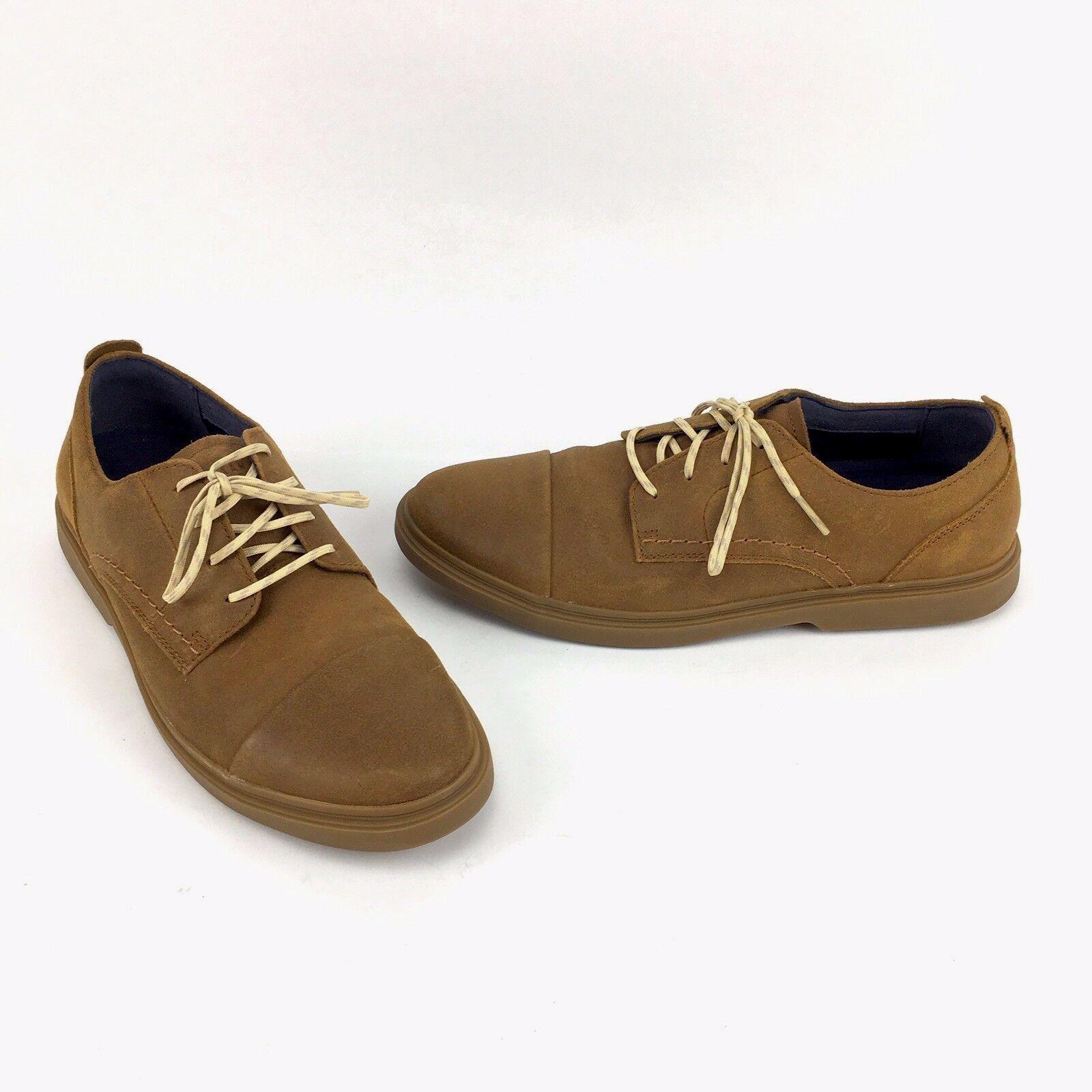 Cole Haan shoes Brandt Suede Cap Toe Oxfords Mens Size 7.5 M