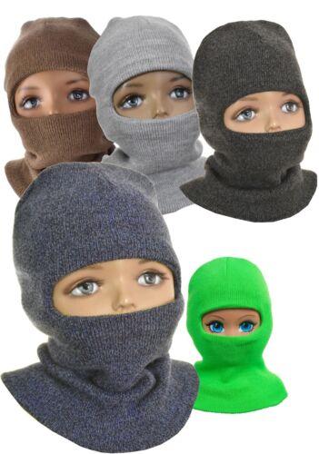 Kindermütze Schlupfmütze Schalmütze  0,5-2,5 Jahre Warm Augenloch Baby Kleinkind