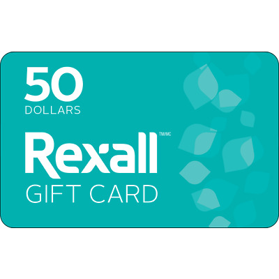 Rexall Gift Card - $50 Mail Delivery