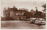 Scottish War Memorial, Earl Haig Statue & Castle, EDINBURGH, Midlothian RP