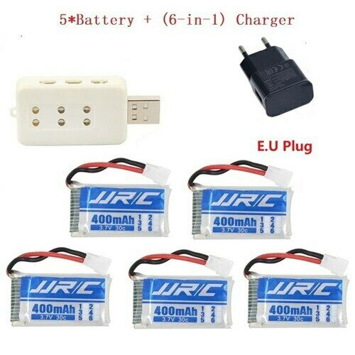 Lipo Battery FOR  Drone Syma RC Charger Car 3.7v 400mAh 30C for JJRC H31 H43hw