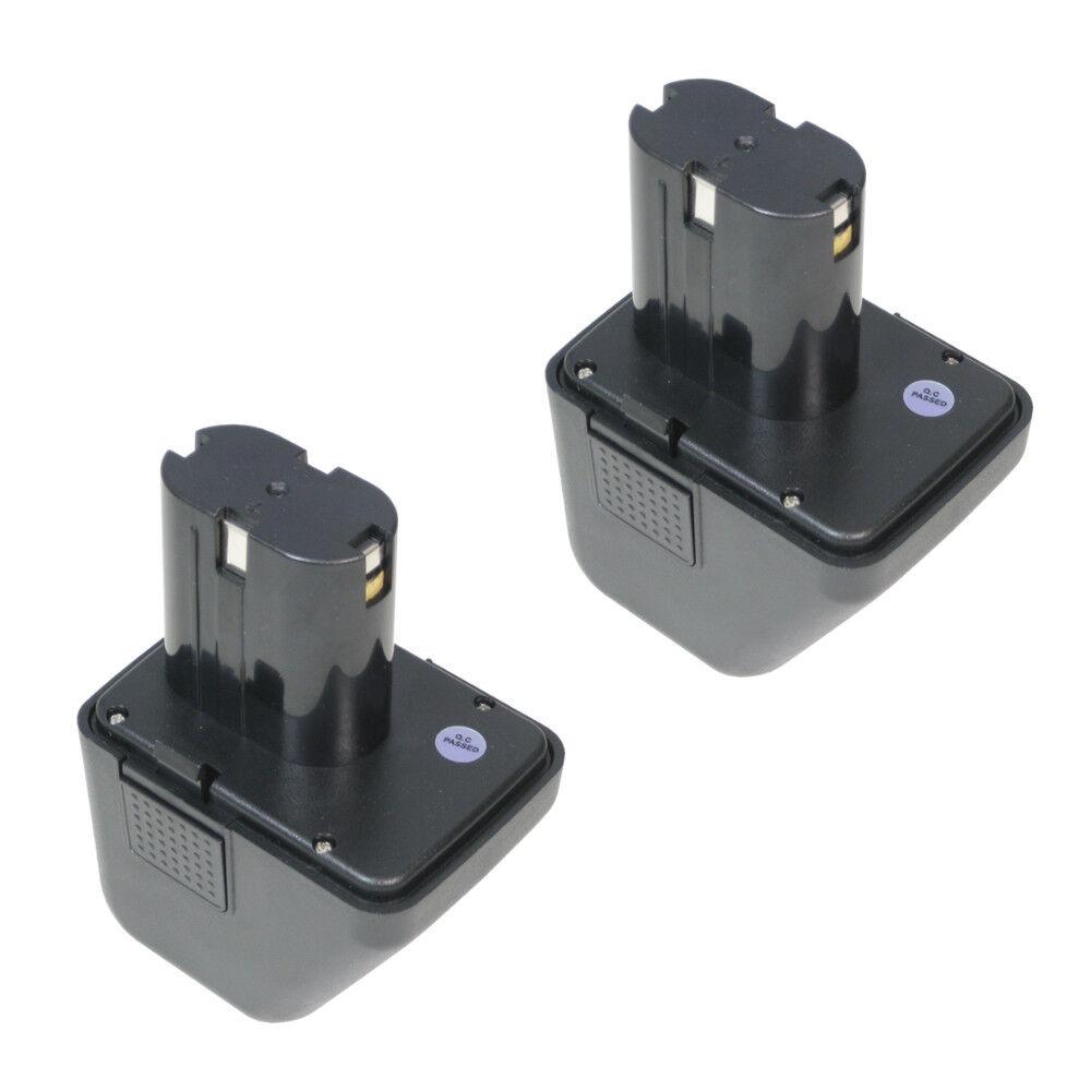 2x AKKU 12V Ni-Mh 2500mAh 30Wh für Lematec 12 Gesipa CPT12/2 EHD Würth 7256020
