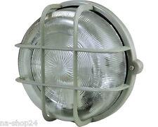 Round lamp EEK A IP44 GRAY Wall Lamp Ceiling Lamp Cellar lamp Lamp Light