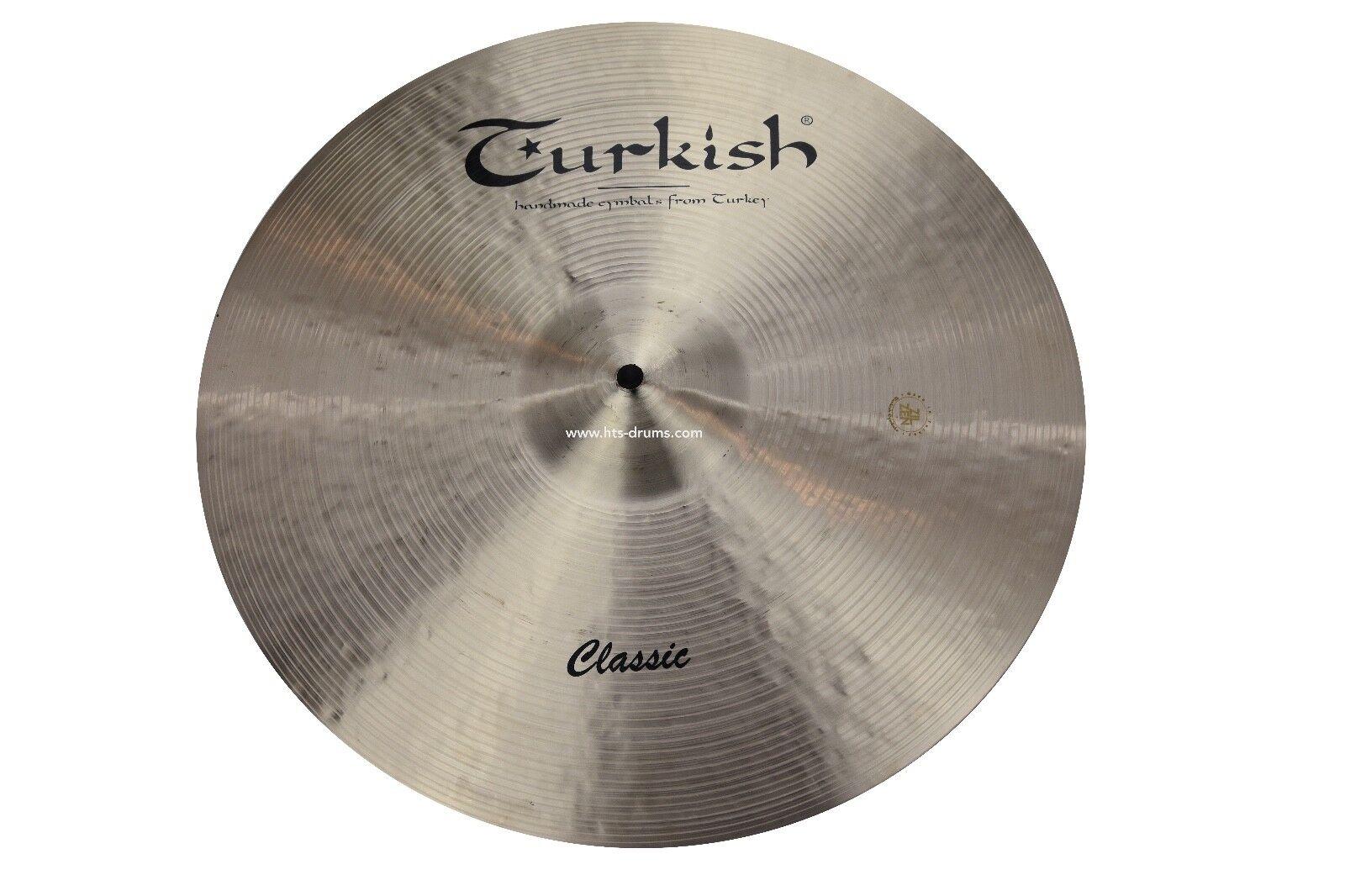 TURKISH CYMBALS cymbale Classic Crash 16  1027g