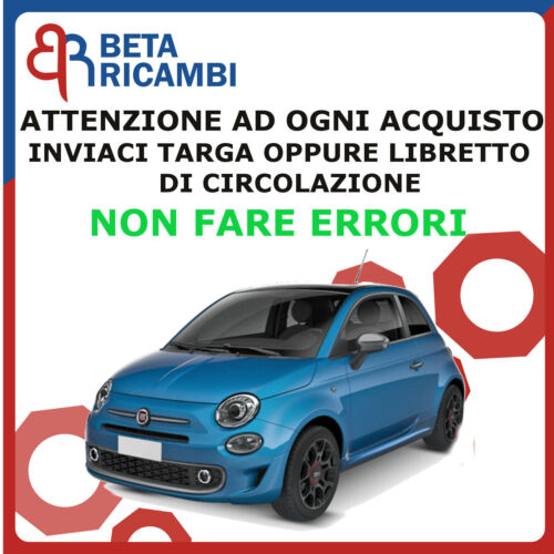 Kit Bulloni Antifurto Per Fiat 500 Dal 2007/> Ruote In Acciaio O Lega Farad