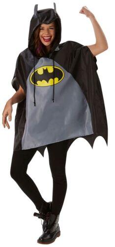 Mesdames Homme Festival essentiel Batman imperméable poncho accessoire robe fantaisie