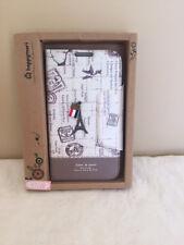 Happy Mori Wallet Case for Samsung Note 2 N7100 Lovely Parisian Design