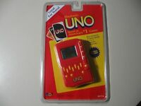 Electronic Handheld Game: Uno, By Mga (brand & Sealed)