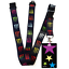 High-quality-ID-badge-holder-RAINBOW-STARS-amp-Secure-Lanyard-neck-strap-soft thumbnail 29