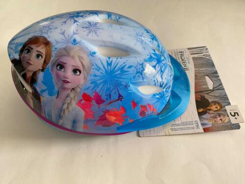 flocons de neige 2D Protecti Bell Disney Frozen II enfant vélo casque et visière Ages 5