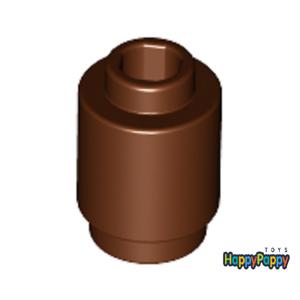 Lego 10x Stein 1x1 Rund Braun Reddish Brown Round 3062b Neuware New