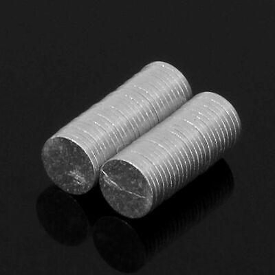 5pcs 8X5MM N52 Super Stark Rund Scheibenförmig Blöcke Seltenerd Neodym Magneten