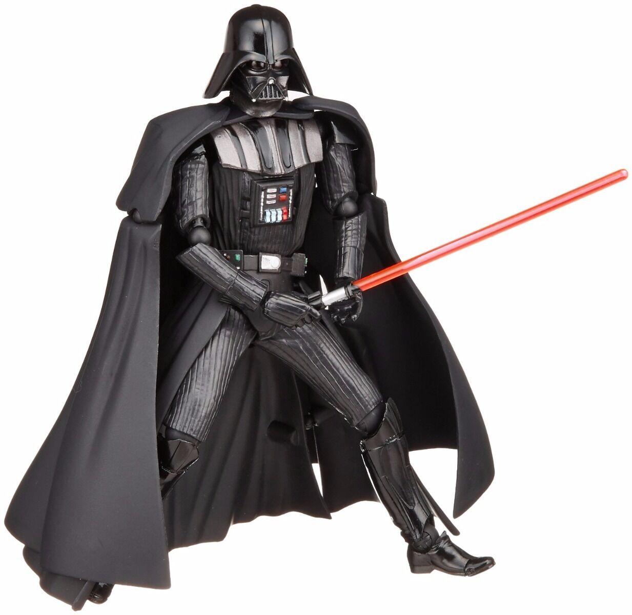 STAR WARS:REVO No.001 Darth Vader Figure KAIYODO NEW from Japan