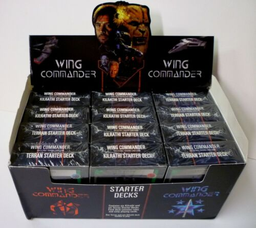 Mag Force 7 Wing Commander CCG 2 Starter Deck Set New 1995 Amricons