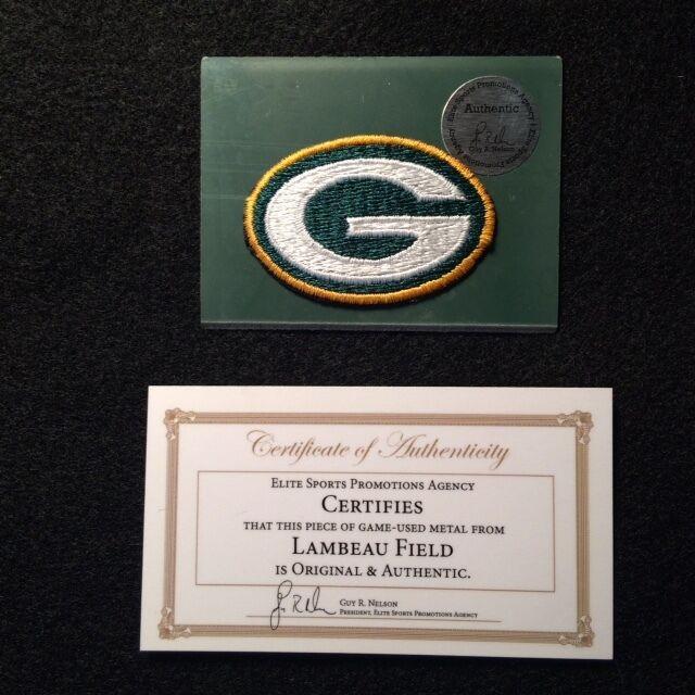 Green Bay Packers Patch + piece of Lambeau Field!