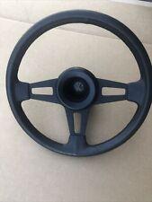 Vw Golf Rabbit Mk1 Gti Scirocco Jetta Mk2 Caddy Wolfsburg Black Steering Wheel
