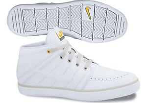 Nike Suketo Mid Leather Hi-Top Trainer Boot White 525310-100  0eab2ec4deaf