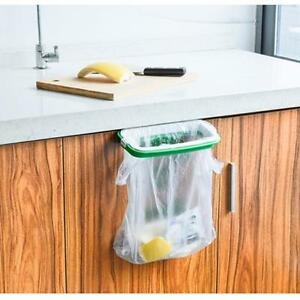Kitchen-Trash-Garbage-Bag-Hanging-Rack-Rubbish-Holder-Cupboard-Storage-Case-AL