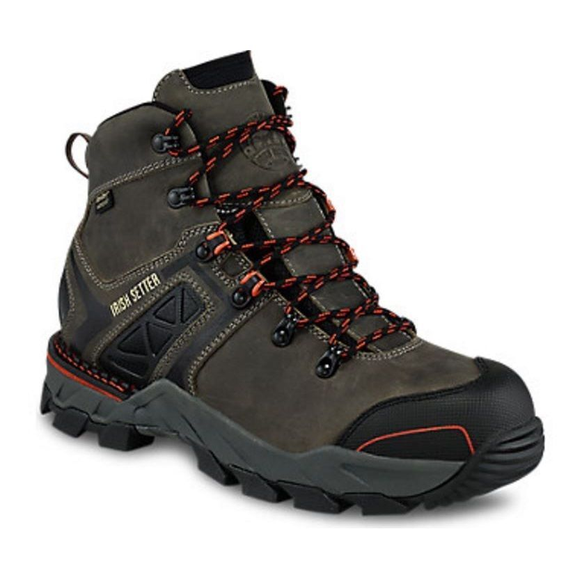 Red Wing Irish Setter Men's Safety Toe Crosby Boot 83628