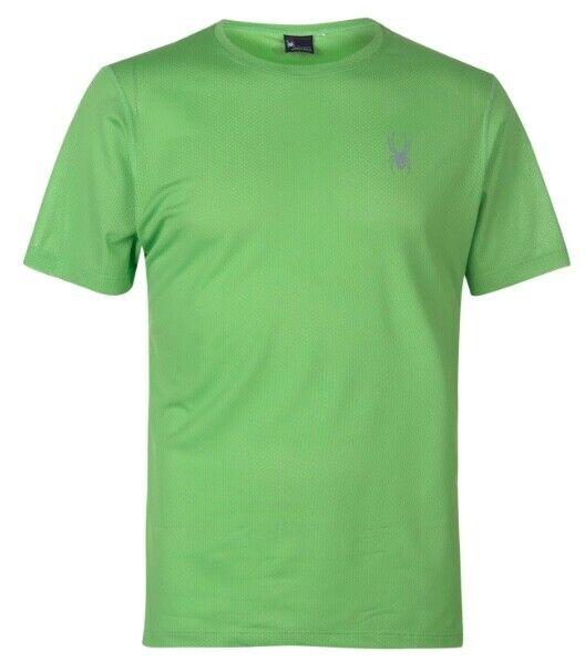Spyder Alpine Camiseta Hombre green silver Todas sizes Nuevo con Etiquetas