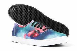 NIB Vans Authentic Lo Pro (COSMIC GALAXY) Nebula   Blue White Red ... 1dd2d0c88