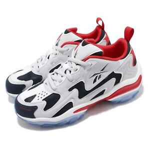 Reebok DMX Series 1600 Skull Grey Navy Red White Men Running Shoe ... 92f6bcdf2