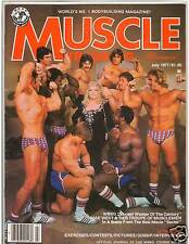 Muscle Training Dan Lurie Bodybuilding Fitness Magazine MAY WEST/ Reg Lewis 7-77