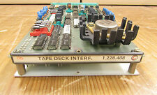 Studer A820 tape deck interface, type.nr; 1.228.408
