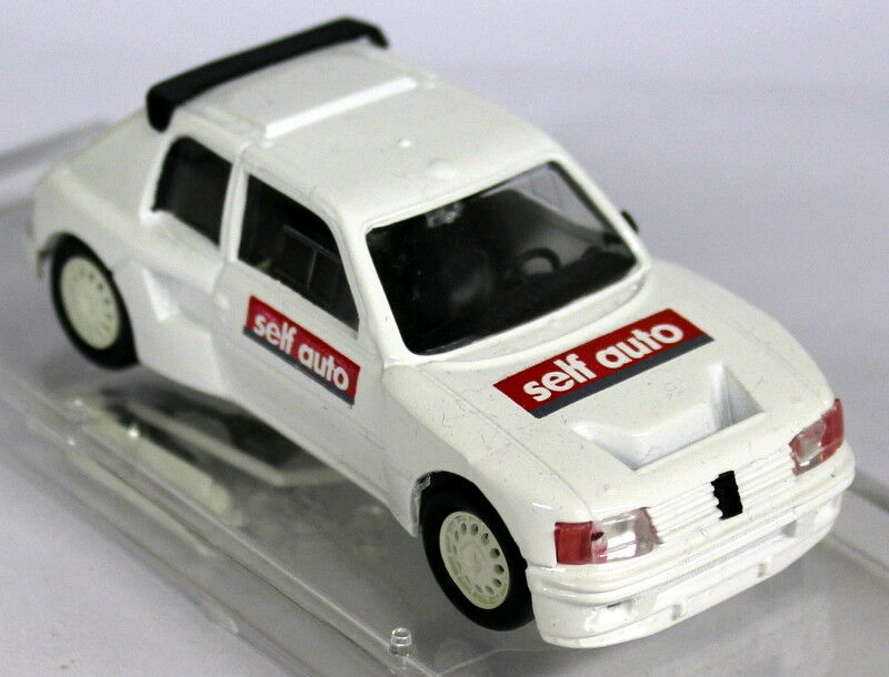 Vitesse 1 43 Scale - Peugeot 205 T16 White Self Auto Diecast Model Car