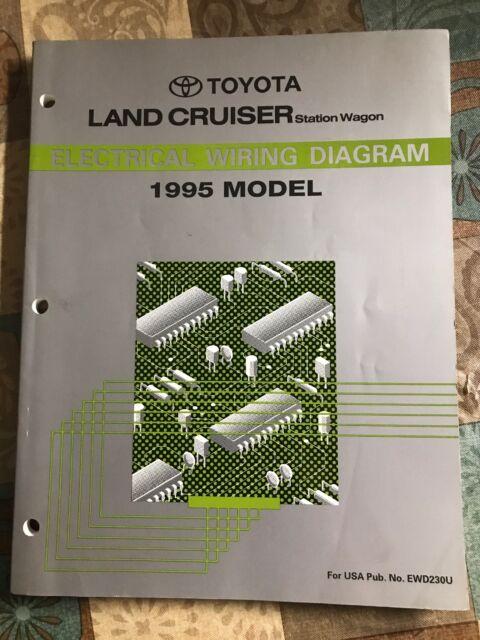 Toyota Land Cruiser Electrical Wiring Diagram Service