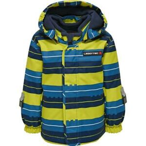 Legotec-Boys-Ski-Jacket-Blue-Striped-Size-74-80-86-92-98-104