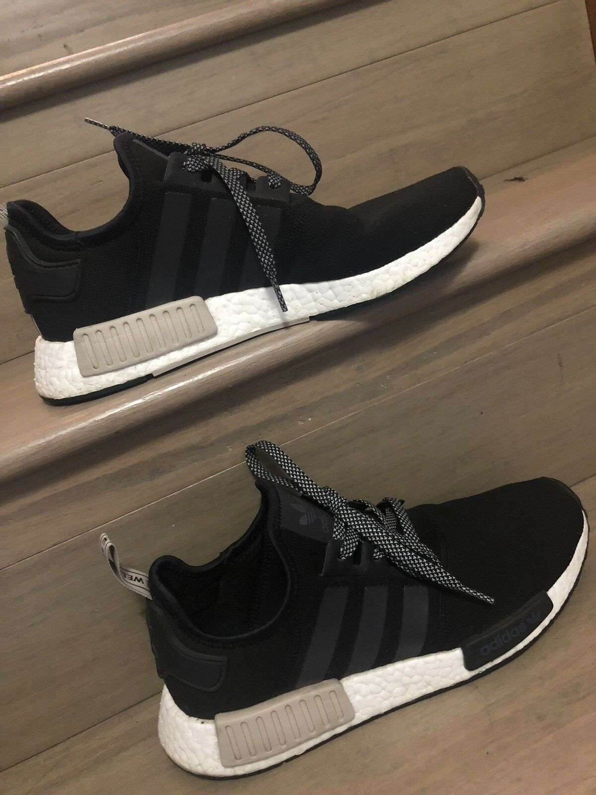 Adidas NMD R1 Light Brown Black Men's 10 footlocker Australia