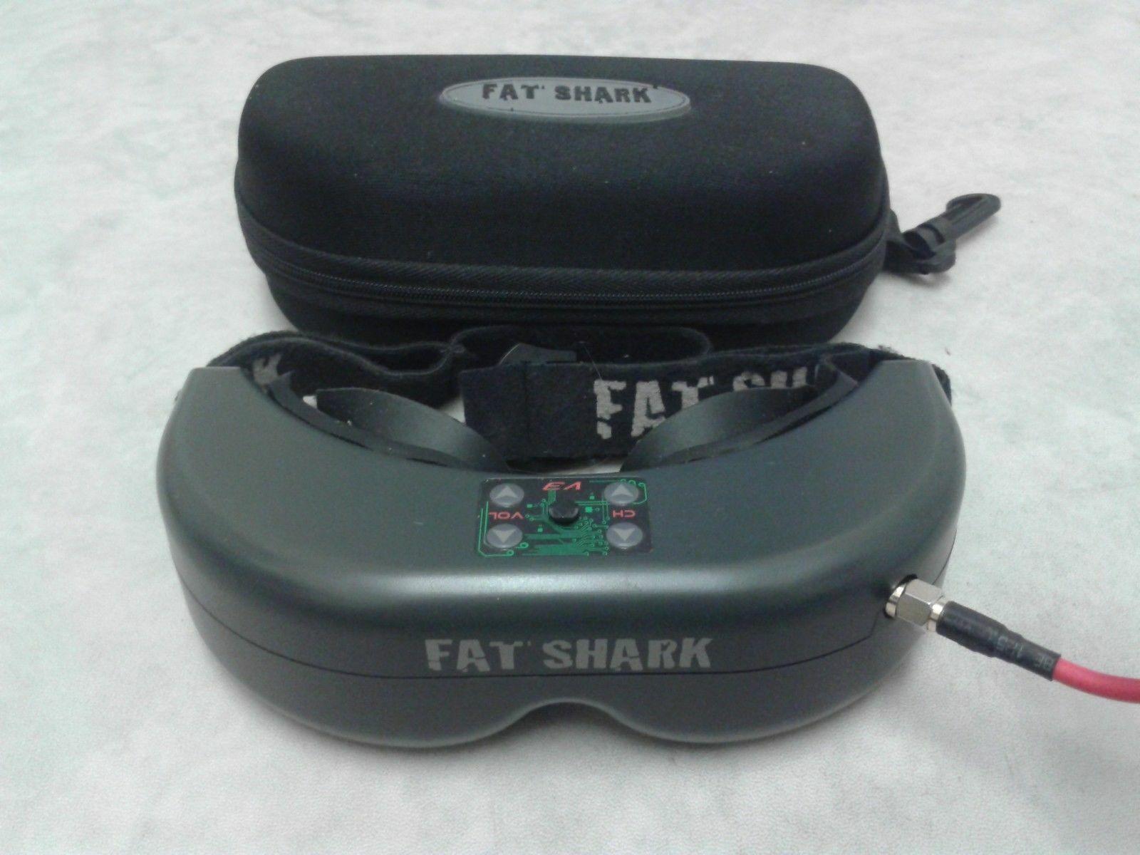 FatShark Teleporter V3 Fpv Gafas 5.8GHz Receptor Cargador de batería RC Quadcopter