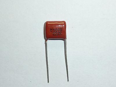 200PCS CBB13 682K 630V 0.0068UF 6.8NF P10 Metallized Film Capacitor