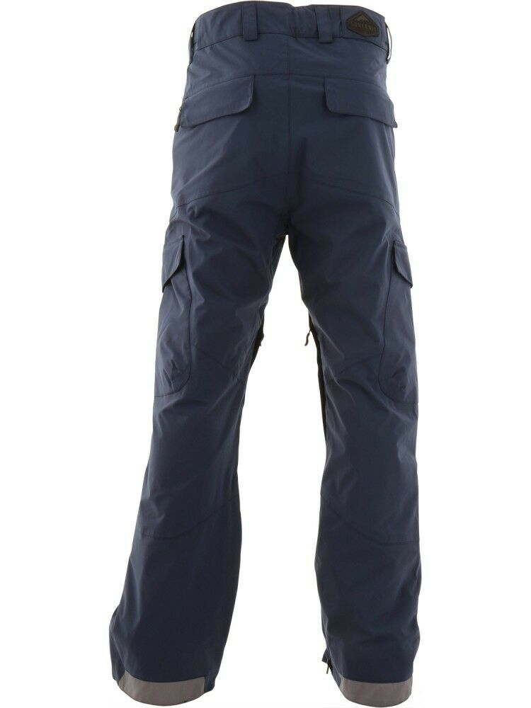 SURFANIC HELLION  SNOWBOARDING Herren SNOWBOARDING  SKI PANTS 15000 RATING SURFTEX NAVY LARGE 8ce365