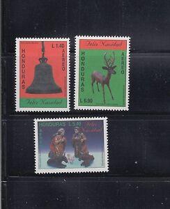 Honduras-1995-Christmas-Sc-C962-964-Complete-Mint-Never-Hinged