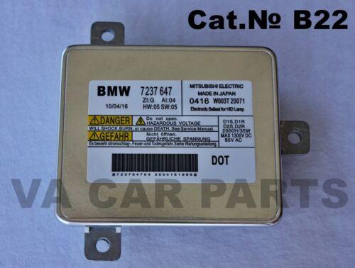 OEM Xenon HID Ballast control unit Ecu BMW E90 Facelift F30 F10 F07 F06 F10