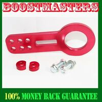 For 88-00 Honda Civic Integra Acura Tow Hook Front Red