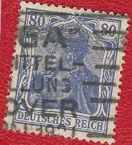 DEUTSCHES-REICH-976-MI-NR-149-a-II-GESTEMPELT-GEPRUFT-INFLA-Weinbach