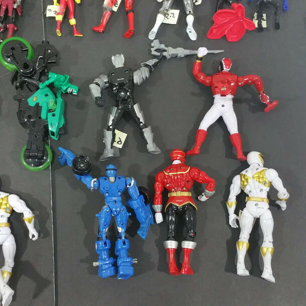 Lot Huge 23 Collective Mixed Mixed Mixed  Power rangers action figures d1d6f3