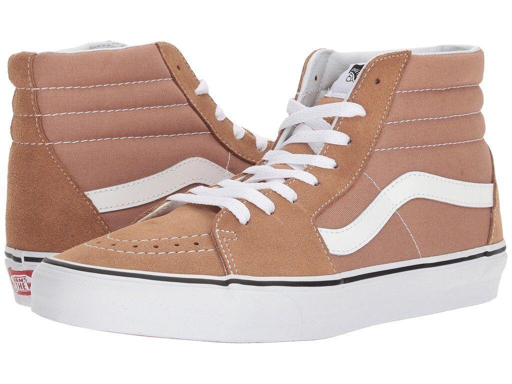 Vans SK8 Hi De Ojo Ojo Ojo De Tigre blancoo para Mujeres Zapatos 7-de hombre 5.5  diseño único