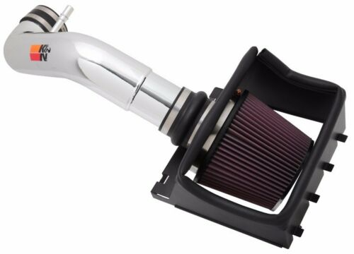 10HP K/&N Polished Cold Air Intake System 2011-2014 Ford F-150 5.0L V8