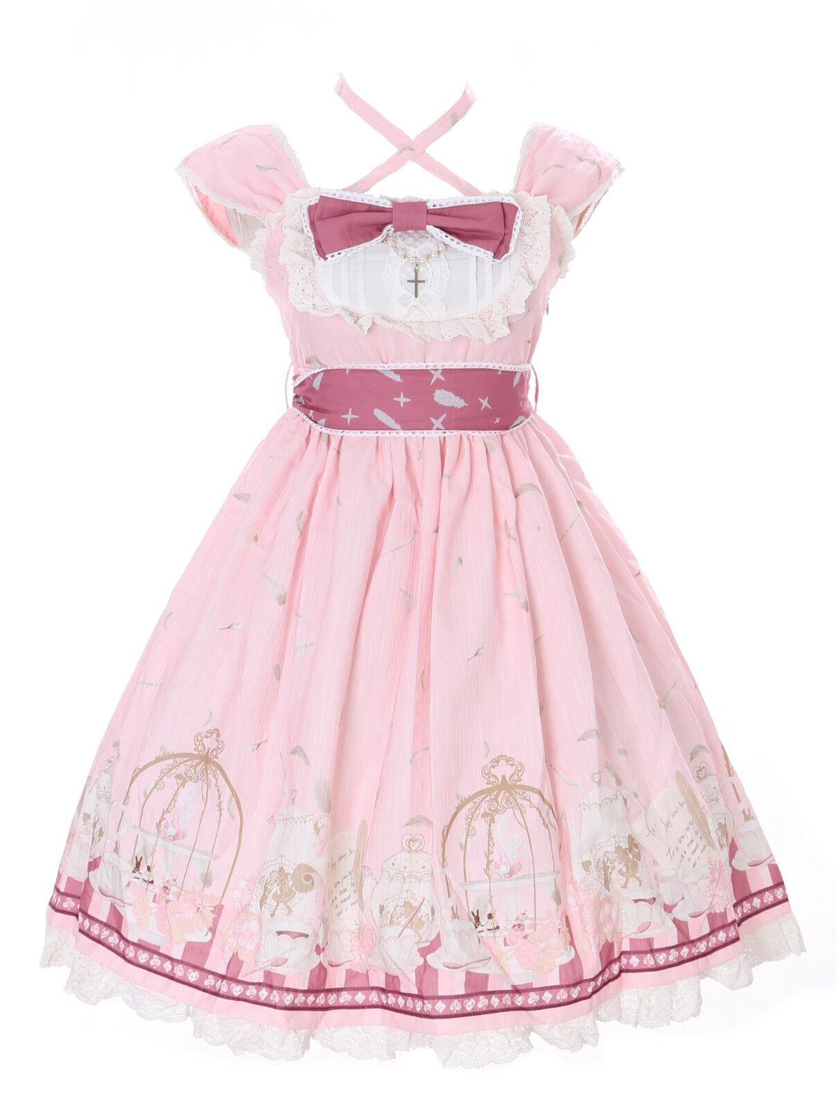 JSK-25-1 Rosa Tea-Time Party Alice Wonderland Sweet Pastel Goth Lolita Kleid | Speichern  | Reichlich Und Pünktliche Lieferung  | Abrechnungspreis