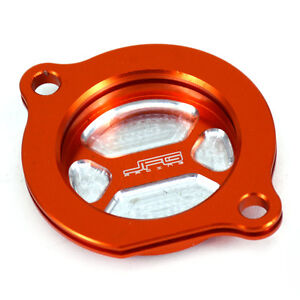 CNC Engine Oil Filter Cover Cap Fit KTM 250 450 525 560 SX SMR SX-F EXC-F EXC O3