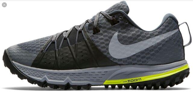 bafe40525410 Nike Air Zoom Wildhorse 4 Womens 880566-001 Grey Hiking Trail Shoes ...