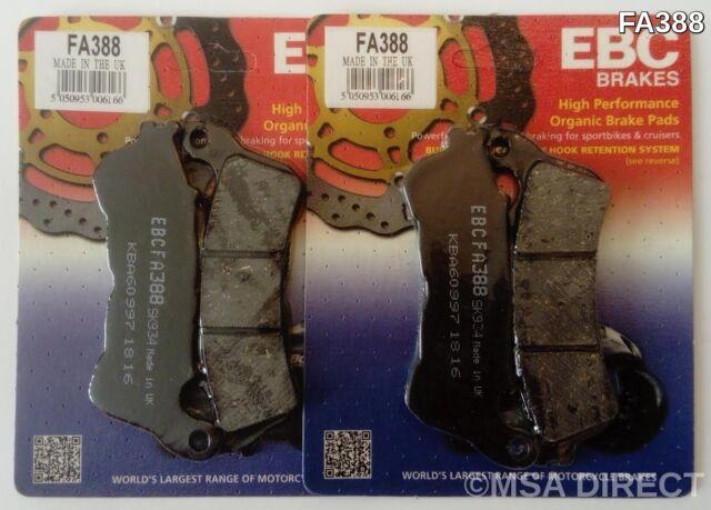 2x EBC FA388 Front Brake pads for Honda CBR CBR600 FAB FAC  ABS   2011 to 2013