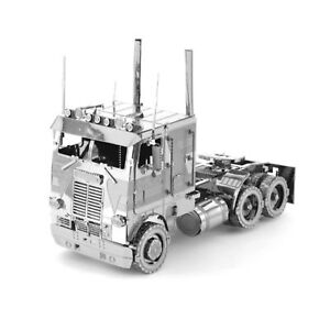 Metal-Earth-Cab-Over-Engine-COE-Truck-3D-Laser-Cut-Metal-DIY-Model-Build-Kit