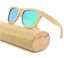 Handmade Unisex Bamboo Wood Polarized Sunglasses Wooden Frame Fashion Glasses